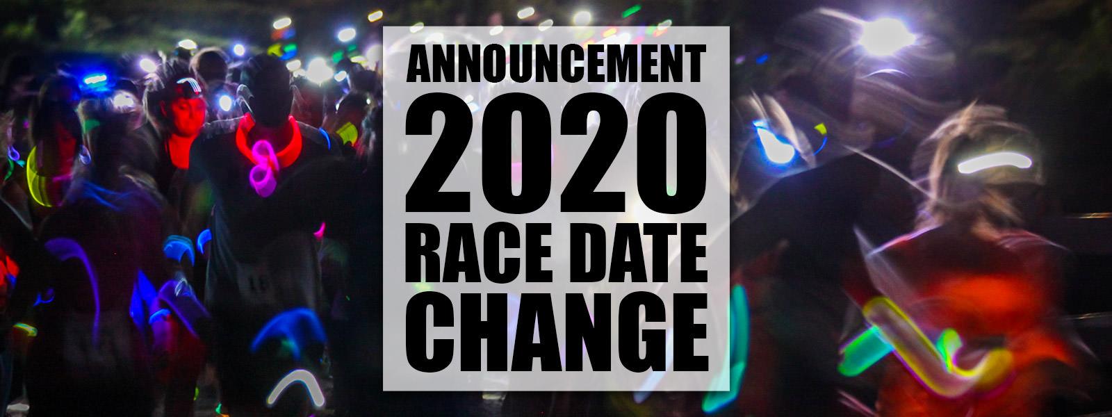 RACE DATE CHANGE
